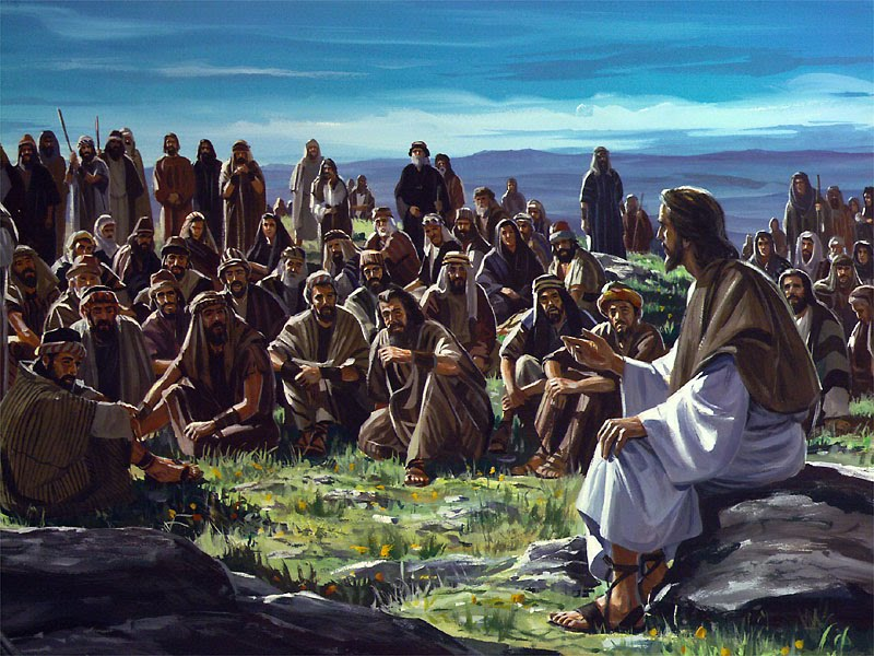 The multitude and the disciples mark mcmillion