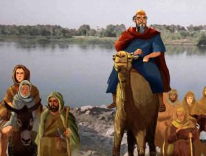 Abraham in Euphrates 4 blog post