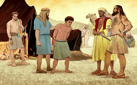 Joseph Egypt Bible in The Bible is Joseph