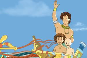 Joseph waving 4 blog post
