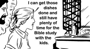doing dishes-flattened