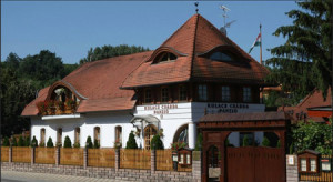 "A Hungarian ""panzio"", a pension or hotel"