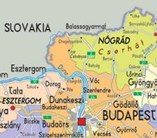 north of Budapest