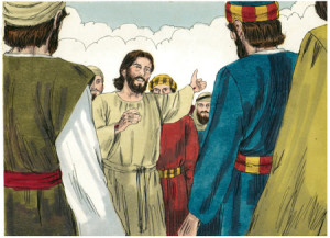 """""""You shall be witnesses…in all the world"""" (Acts 1:8)"""