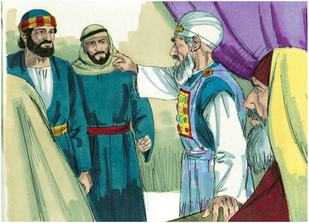 Acts 4 Priests rage