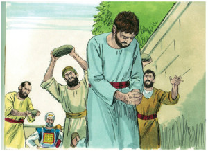The stoning of Stepen