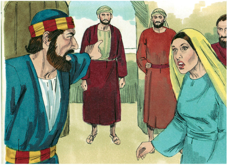 Annaniass wife