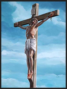 Crucifixiion of Jesus for blog post