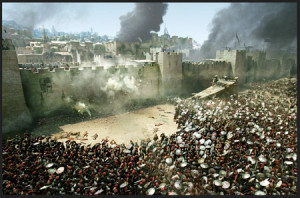 The siege of Jerusalem, 70 AD