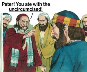 Peter you ate