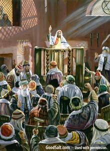 Paul in synagog