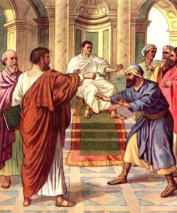 Paul rebukes