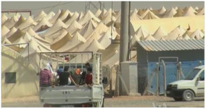 Iraq refugee camp