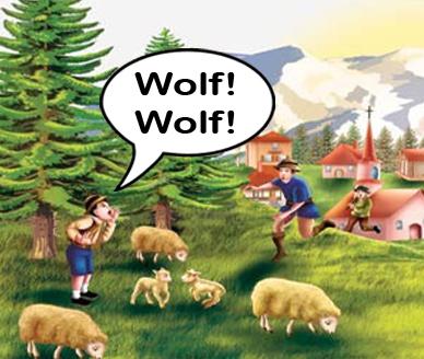 New Wolf Wolf-flatttened