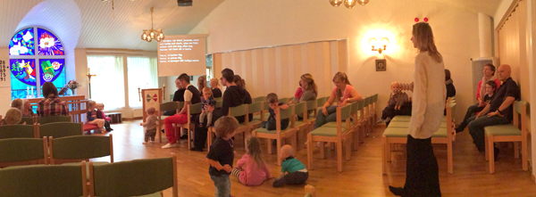 Panoramic in church-1