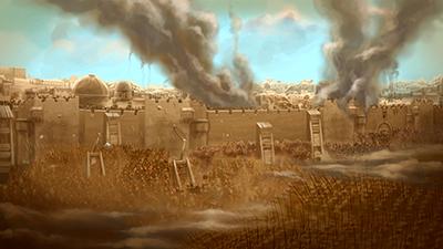 Jerusalem destroyed; 586 BC