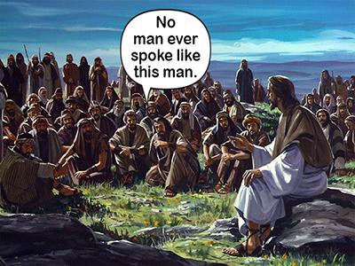 no man ever spoke flat