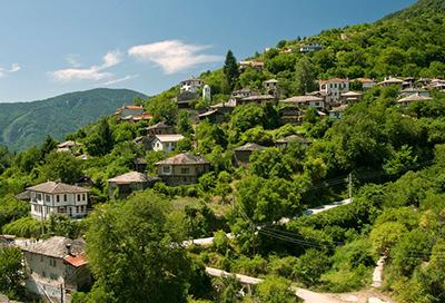 Bulgarian town scene-2
