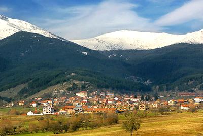 Bulgarian town scene-a
