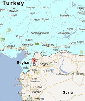 Reyhanli map
