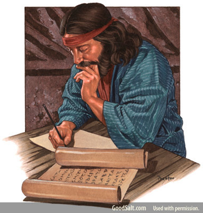 Solomon writing