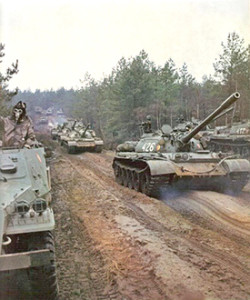 Warsaw Pact forces