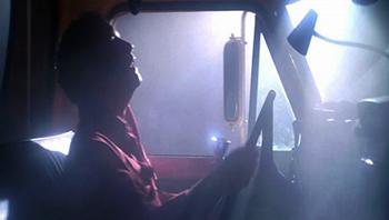 Dreyfus in truck