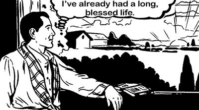 thinking long life-flat-flat