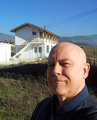 me & Bulgarian church Christmas 2015