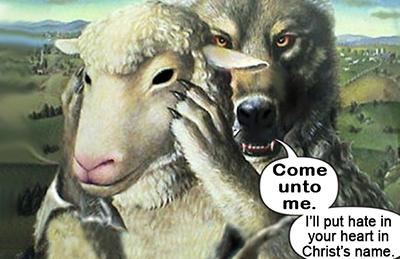 wolf sheep flat