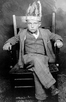 My dad, about 8 years old, 1929