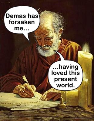 Demas has forsaken flat