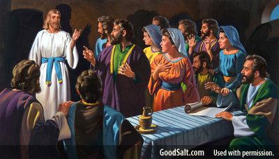 Jesus after resurrection