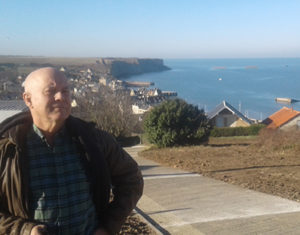 me on normandy coast