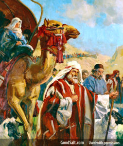Abraham leaving Haran